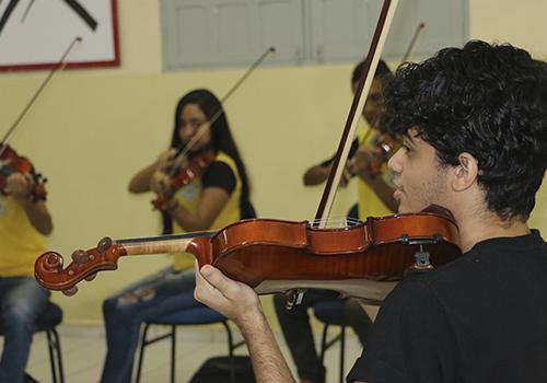 FORMAÇÃO PARA OS EDUCANDOS DO CURSO DE MÚSICA