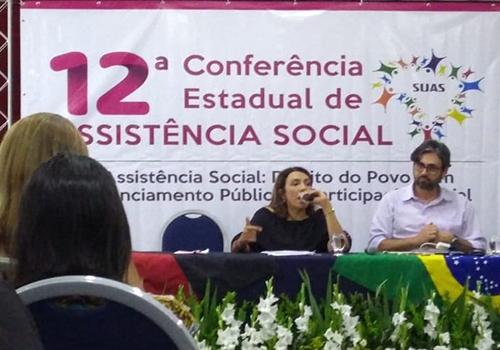 XII CONFERÊNCIA ESTADUAL DE ASSISTÊNCIA SOCIAL DA PARAIBA