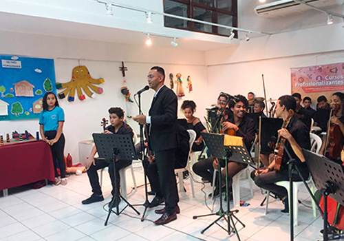 ORQUESTRA DO CEFEC NA POSSE DA NOVA PROCURADORA-CHEFE DO MPT-PB