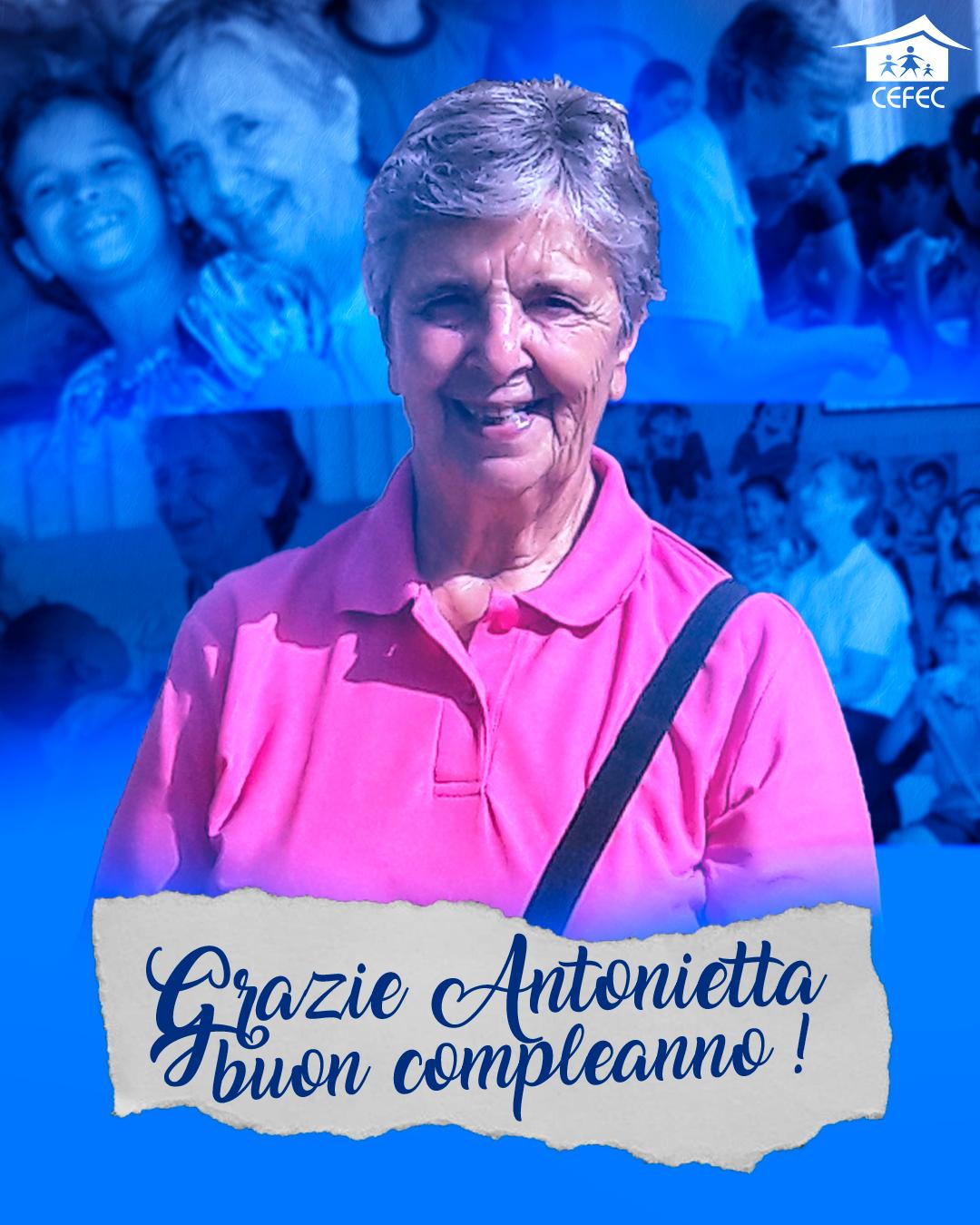 Aniversário da Irmã Antonietta